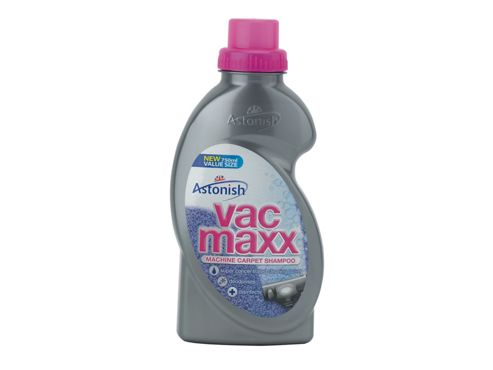 Astonish Vac Maxx Machine Carpet Shampoo 750