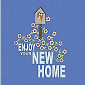 Holy Mackerel Greetings Card- New home card