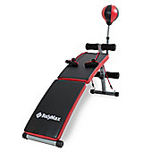 Bodymax Folding Sit Up Bench & Punch Ball