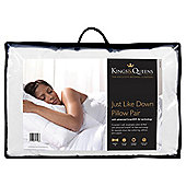 Kings & Queens Pillow Twinpack - Just Like Down