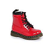 Dr Martens Infants Brooklee Red Boots - Red