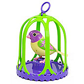 Silverlit DigiBird with Whistle Ring and Birdcage (Breeze)
