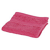 Tesco Face Cloth Raspberry