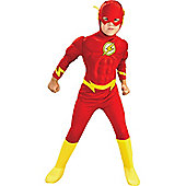 Child Muscle Chest Flash Super Hero Costume Toddler