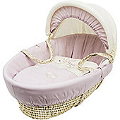 Kinder Valley Daisy Boo Moses Basket (Pink)