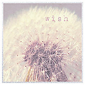 Wish Dandelion Printed Canvas 60 x 60cm