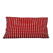 In The Mood Collection© Double Dots Cushion Cover - Red
