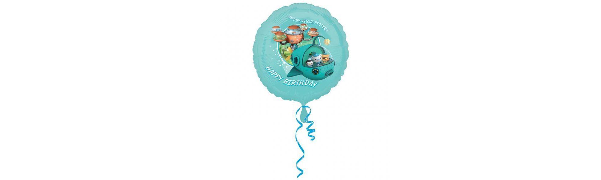 myshop octonauts 18in 45cm happy birthday balloon party amscan