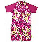 Banz 'Sun Blossom' UV One Piece Suit - Pink - Pink