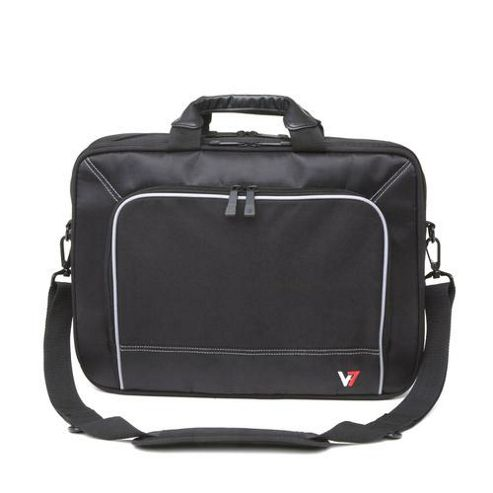 V7 Professional Frontloader 16 inch Laptop Case (Black)