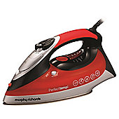 Morphy Richards 300002 3100w 350ml Water Tank Steam Iron in Red