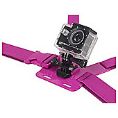 KitVision Action Cam / GoPro Chest Mount, Pink