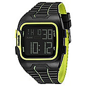Reebok Workout SZ1 Mens Silicone Alarm Chronograph Watch RF-WS1-G9-PBPB-BY