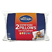 Silentnight Winter Warm Pillow Pair