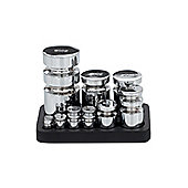 VICTOR Robert Welch Churn Metric Weights with Stand in Chrome