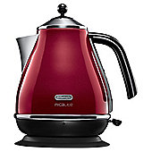 Delonghi Micalite Jug Kettle, 1,7L -  Red