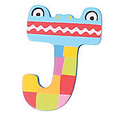 Tatiri Crazy Animals Letter J (Blue Crocodile)