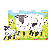 Bigjigs Toys BB010 Chunky Puzzle Sheep and Lamb