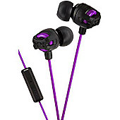 JVC HA-FR201 Xtreme Xplosives In-Ear Headphones - Purple