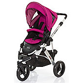 ABC Design Cobra Pushchair - Silver & Grape