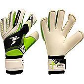 Precision Gk Schmeichology 5 Box Cut Flat Goalkeeper Gloves Size - White