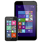 "Tesco Mobile Nokia Lumia 530 & Linx 7"" Tablet Bundle"