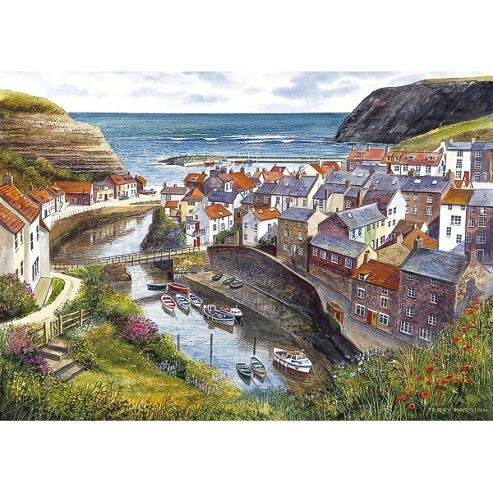 Staithes 1000 piece jigsaw