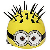 Despicable Me Minions, 3D Spikes, Kids' Bike  Helmet, 52 - 54cm