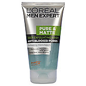 L'Oreal Men Pure & Matte Gel Wash 150ML