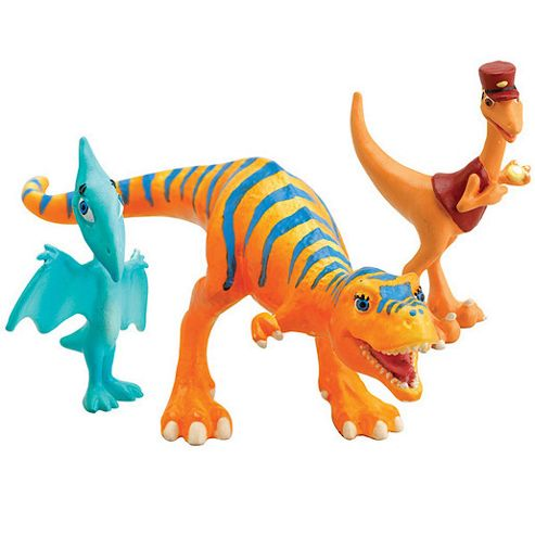 Dinosaur Train - Dolores, Mr Conductor and Shiny 3 Figure Pack