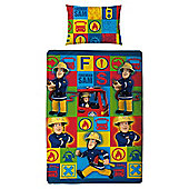 Fireman Sam Duvet Set Single