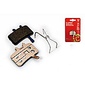 Clarks Elite Semi-Metallic Disc Brake Pads for Avid BB7/Juicy, Spring Inc.
