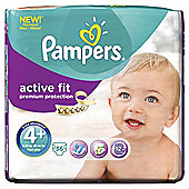 Pampers Active Fit Size 4+ Essential Pack - 36 nappies
