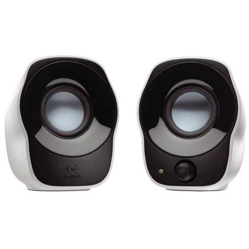 Logitech Z120 Stereo Speakers (White)