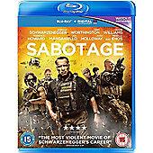 Sabotage Blu Ray