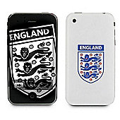 Exspect Official England Football Team 3D iPhone 3 GS Skin Three Lions Design for Apple iPhone 3 & 3GS decorative skins case - EXP-EX130