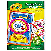 Crayola Funny Faces Colouring Book