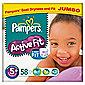 Pampers Active Fit Jumbo Junior Plus 58