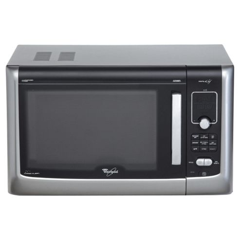 Whirlpool Family Chef 27L 900W Combination Microwave With Grill & Convection Oven - Black
