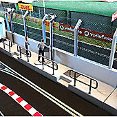 Slot Track Scenics Pw 3X Pit Wall Sections - For Scalextric