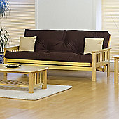 Kyoto Nashville 3 Seater Convertible Sofa Clic Clac Bed - Louisa Natural - Deluxe