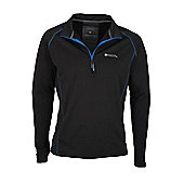 Mens Breeze Cycling Bike Bicycle Sports Running Jogging Gym Top - Black