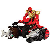 Power Rangers Megaforce Ultra Red Ranger Zord Vehicle