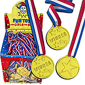 Medals and Rossettes Plastic Award Medals (120pk)