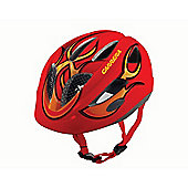 Carrera E0433 Boogie Kids Helmet Rear Light Red Flame XXSmall - XSmall 46-51cm