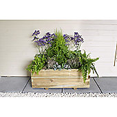 Timberdale Durham Rectangular Planter Set of 3
