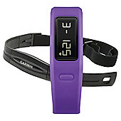 Garmin Vivofit Fitness Tracker with Heart Rate Monitor, Purple