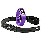 Garmin Vivofit Fitness Tracker, with additional Heart Rate Monitor band - Purple