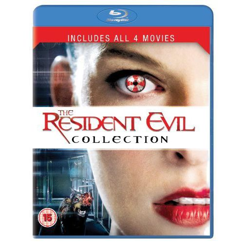 Resident Evil 1-4 (Blu-Ray Boxset)