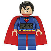 LEGO DC Super Heroes Superman clock